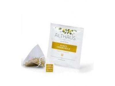 Чай травяной  в пирамидках Althaus Fancy Chamomile (Альтхаус Благородная Ромашка), 15 шт.*2,75 г.