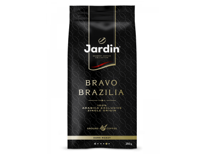 Кофе молотый Jardin Bravo Brazilia (Жардин Браво Бразилия), 250г