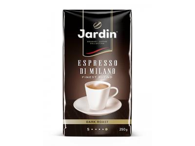 Кофе молотый Jardin Espresso di Milano (Жардин Эспрессо Ди Милано), 250г